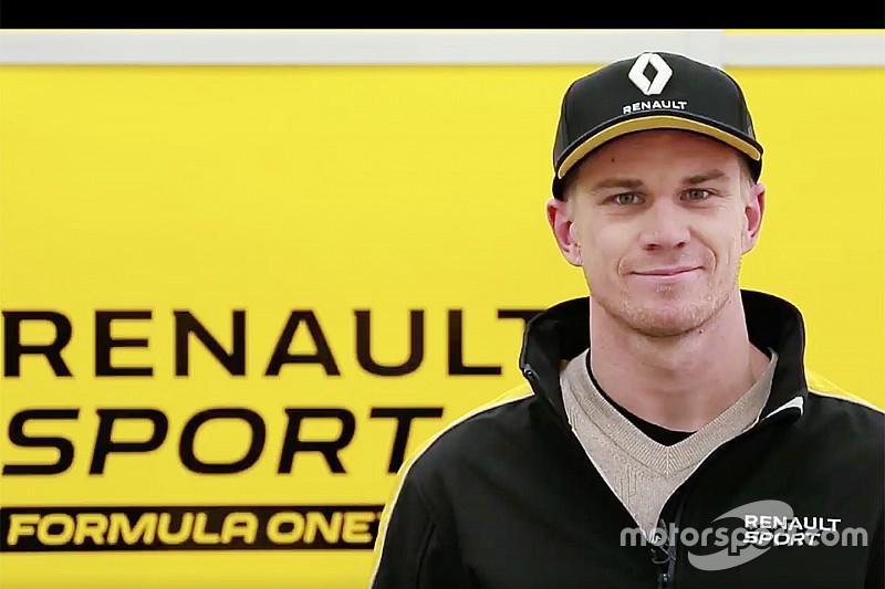 Hulkenberg ya viste los colores de Renault