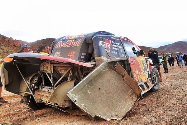 Al-Attiyah Dakar Rallisi'ne erken veda etti