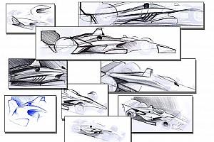 IndyCar Últimas notícias Indy revela primeiros esboços de aerokit para 2018