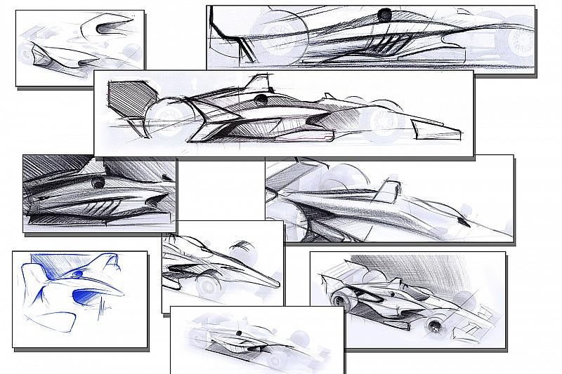 Indy revela primeiros esboços de aerokit para 2018