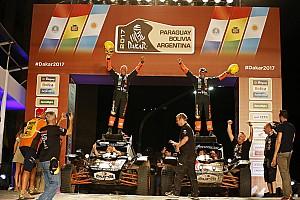 Dakar Nieuws Langgekoesterde wens gaat in vervulling voor Tim en Tom Coronel