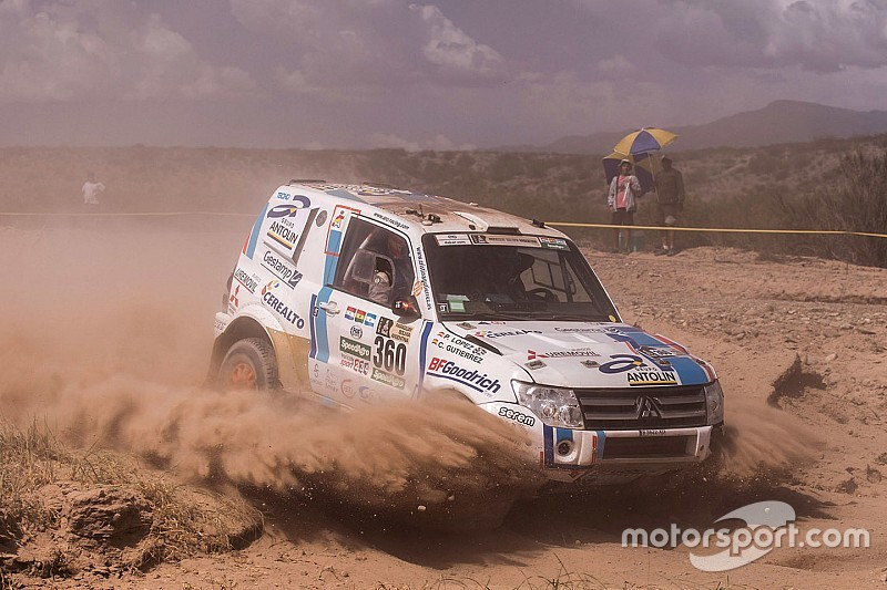 La primera española que terminó el Dakar sobre cuatro ruedas