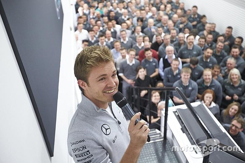 Rosberg setuju jadi duta di tim Mercedes