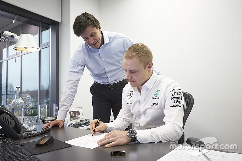 Analyse: Ist F1-Pilot Bottas bei Mercedes 2017 nur Lückenbüßer?
