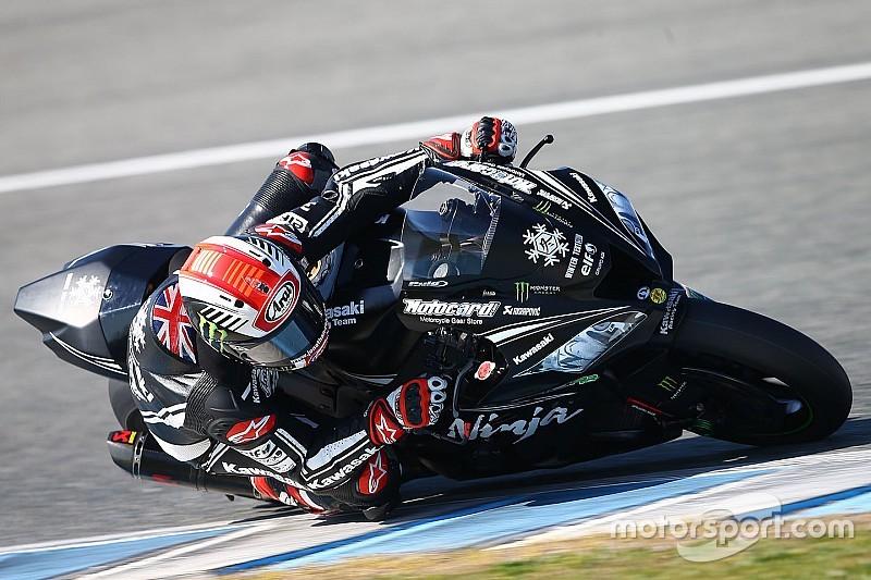 Essais Jerez - Rentrée réussie pour Rea, malgré une chute