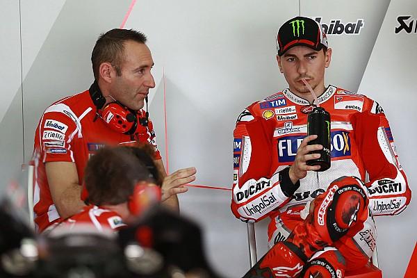 Lorenzo ha scelto Pirro come analista di pista in Ducati