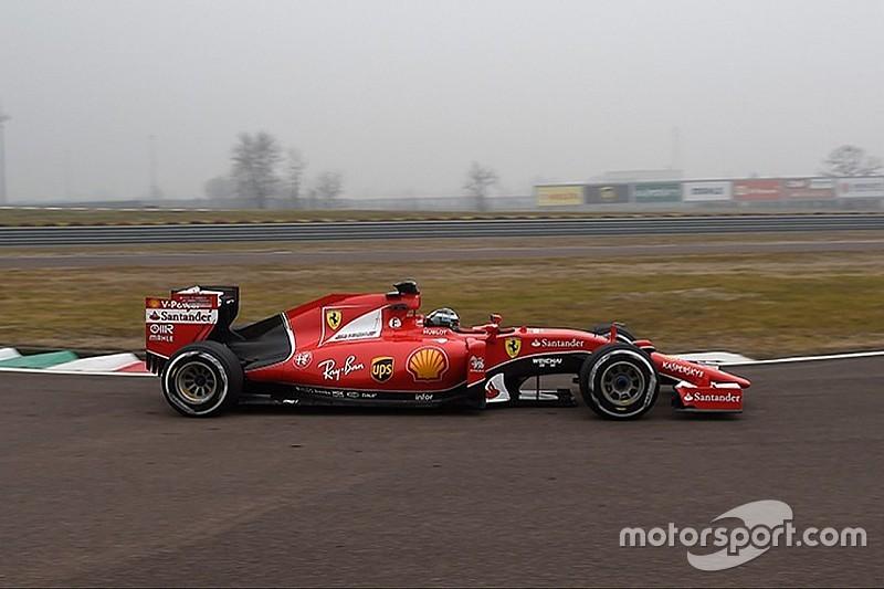 Giovinazzi probó por primera vez un Ferrari en Fiorano