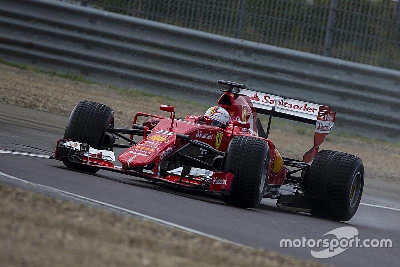 Ferrari probará la próxima semana los Pirelli 2017 de lluvia