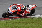 Lorenzo testa freio traseiro acionado por polegar