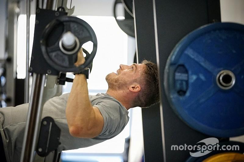 Bildergalerie: Fitnesscamp der Mercedes-DTM-Fahrer 2017