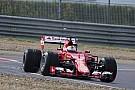 Vettel chocó en las pruebas de Pirelli sobre mojado