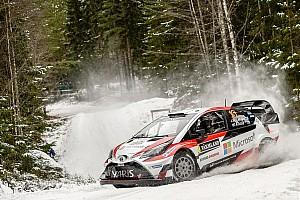 WRC Resumen de la etapa Latvala mantiene el mando en Suecia tras cuatro etapas