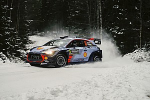 WRC Etappenbericht WRC in Schweden: Neuville schnappt sich die Führung