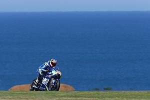 """MotoGP Noticias de última hora Rins: """"La primera curva da un poco de respeto"""""""