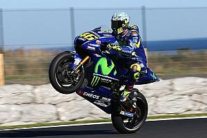 MotoGP News MotoGP-Test auf Phillip Island: Rossi
