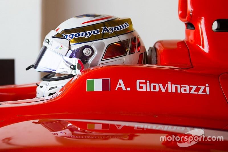 Травма Верляйна дала шанс Джовинацци дебютировать в Sauber