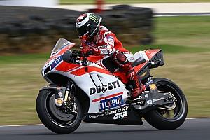 MotoGP Новость Лоренсо зашел в тупик с адаптацией к мотоциклу Ducati