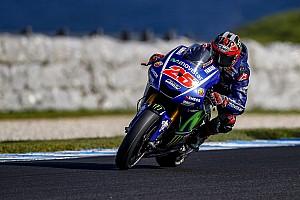 MotoGP Laporan tes Tes Phillip Island: Vinales kembali tercepat, Rossi posisi ke-11