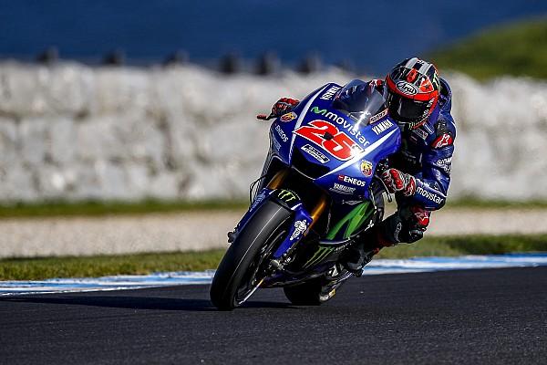 Viñales domina último dia de teste na Austrália; Rossi é 11º
