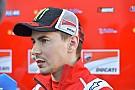 Lorenzo - Impossible de gagner en Australie si la course était demain