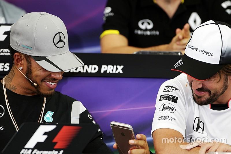 """""""Como fan, habría juntado a Alonso y Hamilton"""", dice Wolff"""