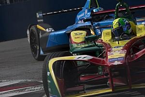 Formule E Réactions Di Grassi, troisième -