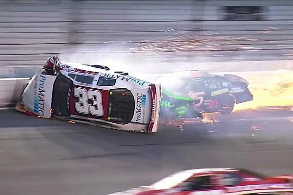 ARCA News Fahrer nach wildem ARCA-Crash in Daytona an Wirbelsäule verletzt