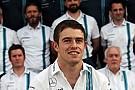 Formule 1 Di Resta reste pilote de réserve Williams