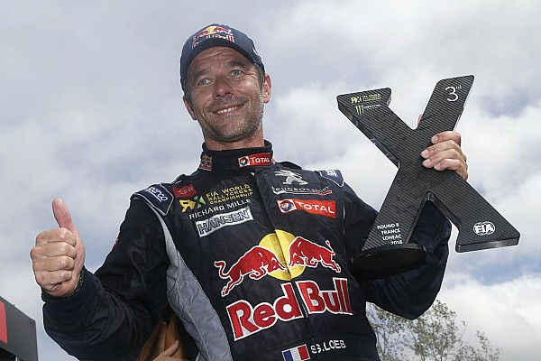 World Rallycross Ultime notizie Loeb continua nel Mondiale Rallycross con Peugeot-Hansen