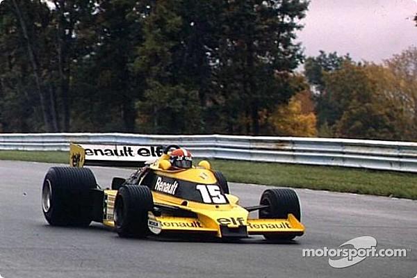 Fórmula 1 Top List GALERIA: Confira todos os carros da Renault desde 1977