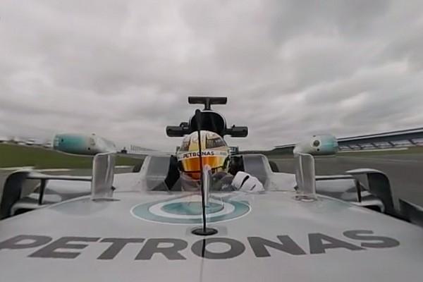 Fórmula 1 Últimas notícias VÍDEO: Veja giro em Silverstone narrado por Hamilton em 360°