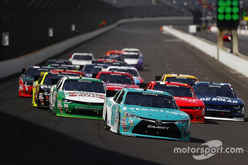 NASCAR usará el plato restrictor en Xfinity en Indianápolis