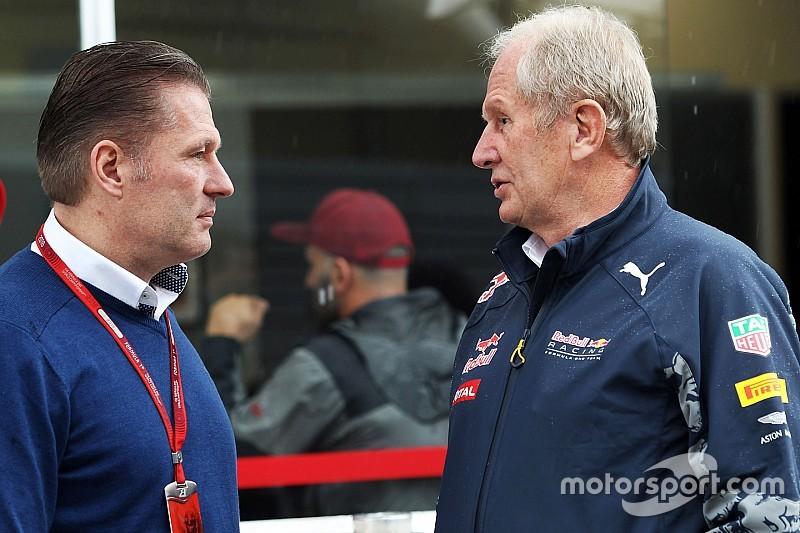 Jos Verstappen fue a observar a los jóvenes talentos de Red Bull por pedido de Marko