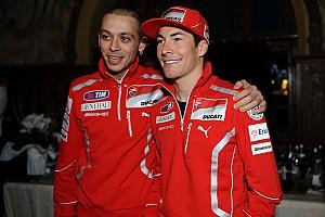 MotoGP Reactions Rossi berharap yang terbaik untuk Hayden