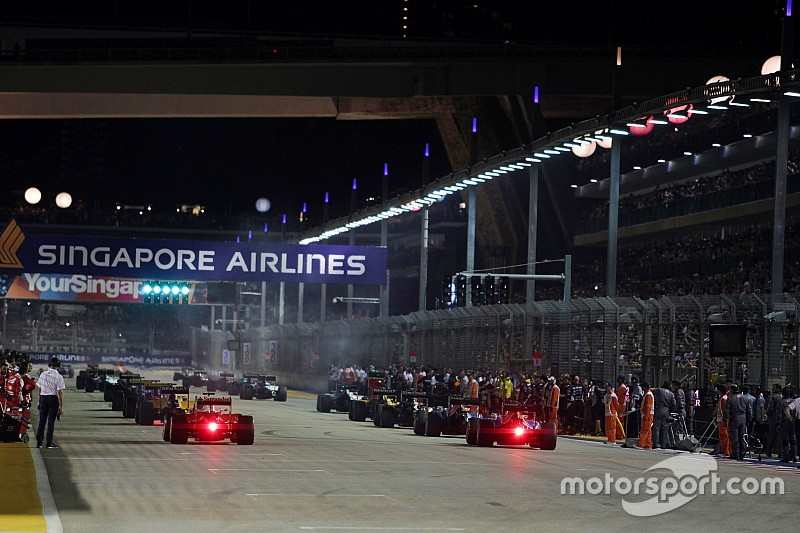 Pirelli annonce les pneus pour le GP de Singapour