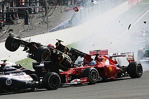 Formula 1 Breaking news Massa: Sainz move as bad as Grosjean's race-ban crash