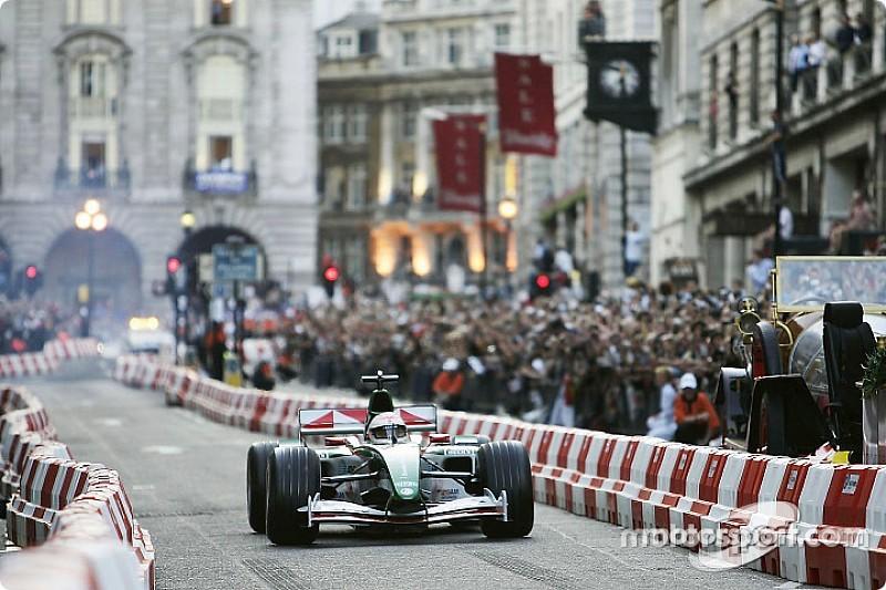F1 fará show com carros nas ruas de Londres nesta quarta