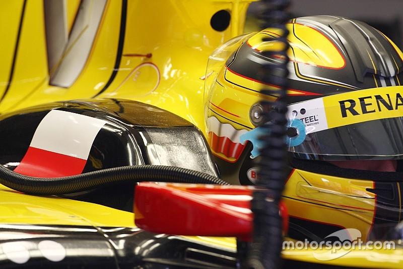 Kubica, Renault ile ikinci F1 testini tamamladı