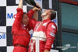 F1 Artículo especial El día que Michael Schumacher igualó los mundiales de Fangio en F1