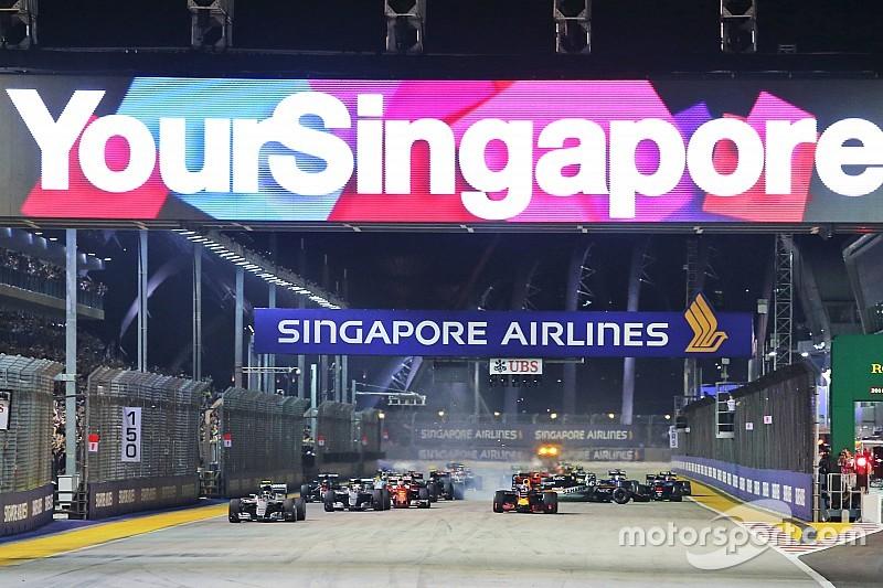 """Singapur está """"muy cerca"""" de un nuevo acuerdo con la F1"""