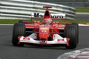 Formel 1 Historie F1-Legenden: Ferrari F2002