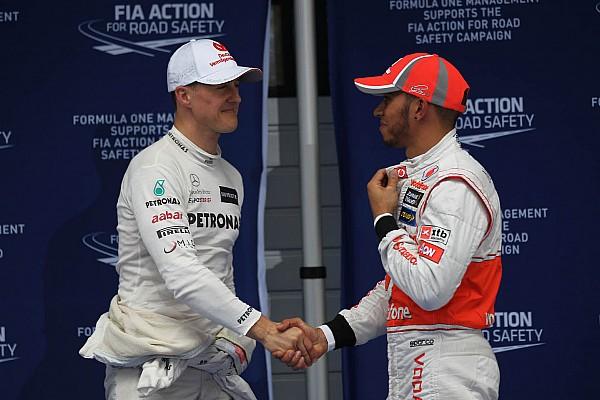 Análisis: ¿Quién fue mejor en la poles? ¿Schumacher o Hamilton?