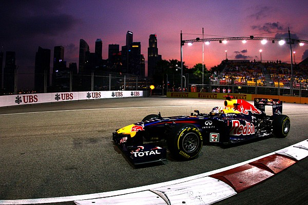 Alle Grand Prix-winnaars in Singapore sinds 2008