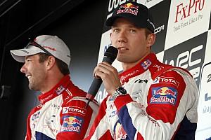 WRC Actualités Citroën cherche bien à réunir Ogier et Loeb