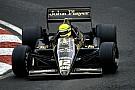 Egy kezdeti esős Senna-varázslat