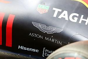 Formule 1 Nieuws Aston Martin volgend jaar titelsponsor van Red Bull Racing