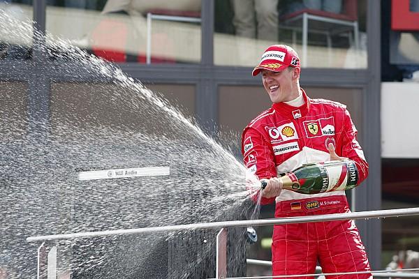 Schumacher fue elegido el mejor piloto de la historia de Ferrari
