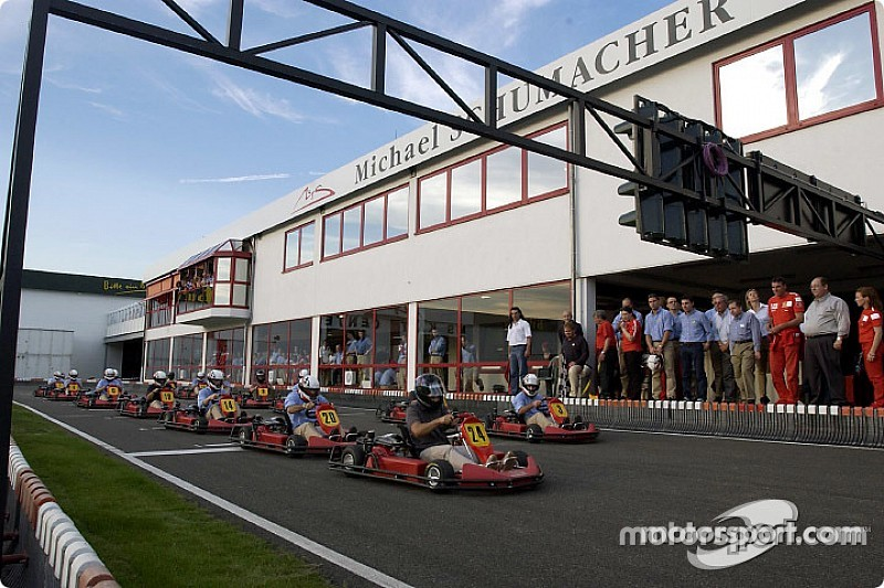 La piste de karting de Michael Schumacher va fermer