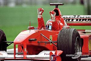 Ferrarik a Forma-1-ben: Az F1-2000, amivel két évtized után jött össze a vb-cím