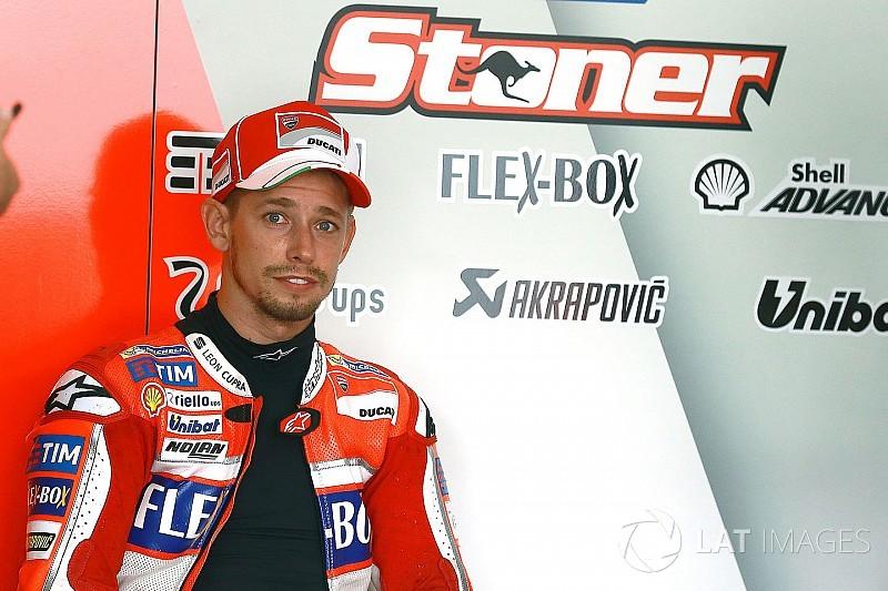 Дощ завадив тестам MotoGP на Сепанзі, але не Стоунеру